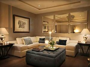 Lovely mirror wall decoration ideas living room decorating for Living room ideas decorating pictures