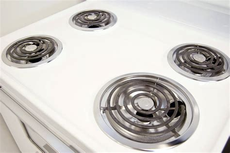 stove electric range coil burners cooktop repair stovetop dirty cleaning clean repairing porcelain ceramic tops burner grease atlanta easy kitchen