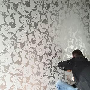 Victorian Damask 3D Feature Wallpaper Roll