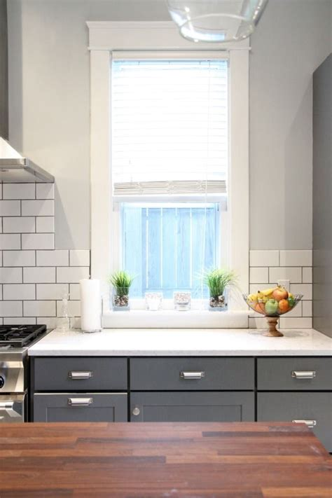 dark lowers white subway tile  dark