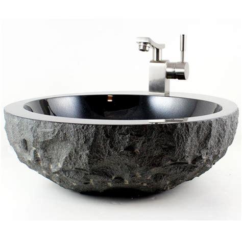 absolute black granite finish bathroom
