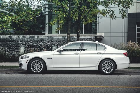 Alpine White Bmw 5 Series Photoshoot By Marcel Lech