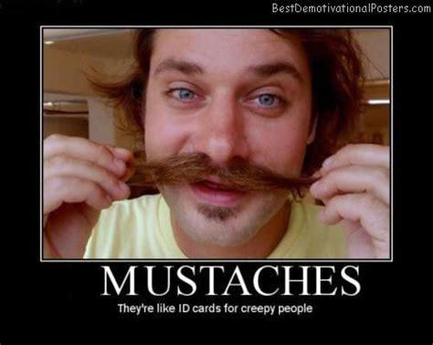 Black Guy Mustache Meme - mustaches like id demotivational poster
