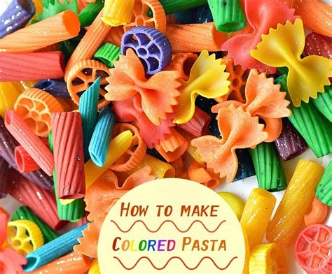 pasta craft ideas how to dye pasta for projects littles 2655