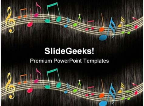 notes background entertainment powerpoint templates