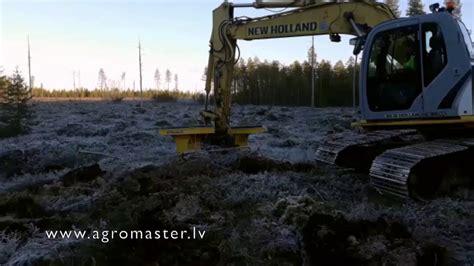 Mašinizēta meža stādīšana ar M-Planter M240 - YouTube