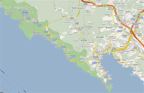 cinq terres italie carte