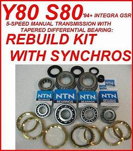 Y80 S80 Transmission Rebuild Kit With Synchro Rings Fits