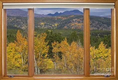 Rocky Mountain Autumn Picture Window Scenic View