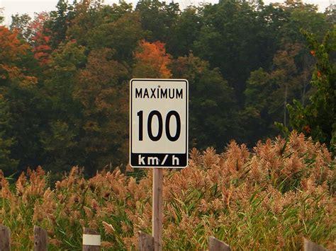 Speed Limit 100, Kings Highway 402, Warwick, Ontario