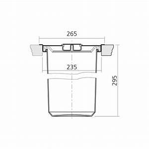 Poubelle Plan De Travail : poubelle de plan de travail 8 litres inox bross ~ Dailycaller-alerts.com Idées de Décoration