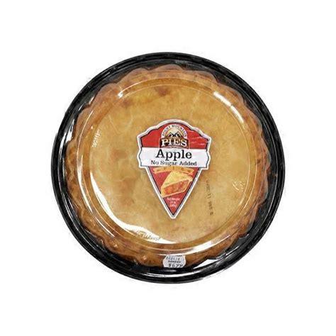 Rocky Mountain Pies Apple Pie, No Sugar Added Full Crust ...