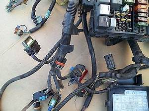 1996 Chevrolet C1500 Engine Wiring Harness W  Fuse Box 4 3l V6