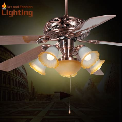 large  inches ceiling fan light popular european style