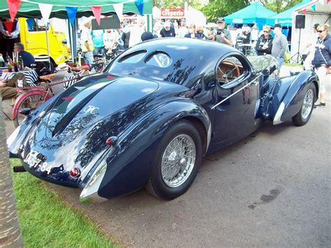 The first, normally aspirated type 57s were rated at 135bhp; 81 Bugatti Type 57SC Gangloff Coupe *Reconstruction (1937)… | Flickr