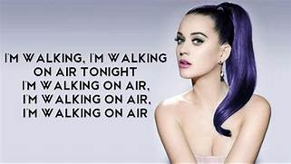 Katy Perry Walking On Air Single Cover