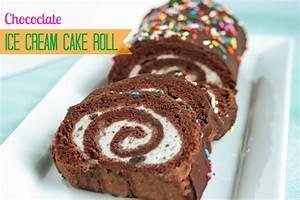 Stuck on Hue: Recipe: Chocolate ice cream cake roll with ...