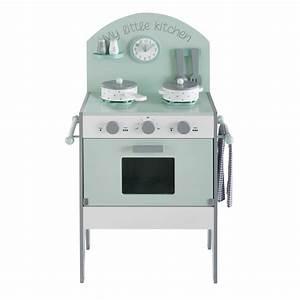 Cuisine Maison Du Monde : mini cuisine enfant vert d 39 eau moonlight maisons du monde ~ Teatrodelosmanantiales.com Idées de Décoration