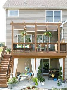 decorative walk out basement deck ideas wow this could be done to our walkout basement craftsman