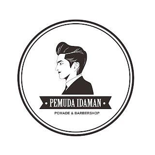 desain logo  kemasan pomade pemuda idaman kebun
