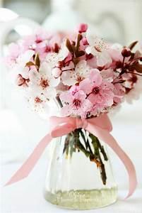 Bouquet De Printemps : fleur de cerisier une d coration d 39 ambiance zen wedding bouquet de fleurs de cerisier ~ Melissatoandfro.com Idées de Décoration