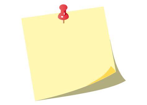 push pin map yellow post it notes with push pin vector free