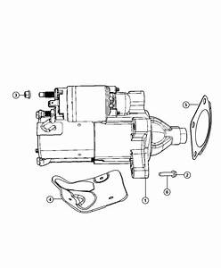 2011 Jeep Wrangler Starter  Engine  Remanufactured