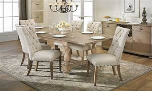 Haynes Furniture City Dining Trestle Table Dining Set