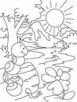 Ant Coloring Hill Pages Anthill Colouring Template Bullet Getdrawings Templates sketch template