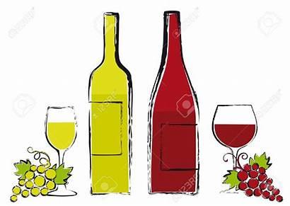 Wine Bottle Clipart Grapes Glass Bottles Glasses