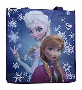 Disney Frozen Tote Bags Reusable Anna Elsa Sven Olaf ...