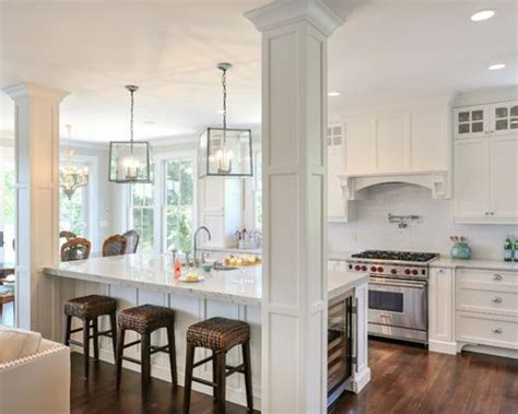 kitchen islands with columns kitchen columns design ideas remodel pictures houzz 5271