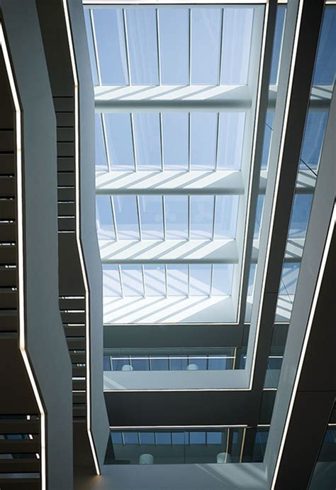 atrium glazing  modular skylights velux longlight