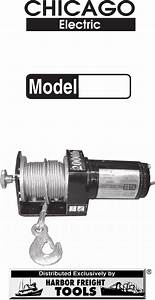 Chicago Electric Winch Replacement Parts