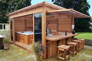 fascinating outdoor hot tubs that will add style to your life With sauna maison pas cher 3 pergola 15 amenagements pour sinspirer