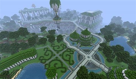 map paradise palace minecraft france