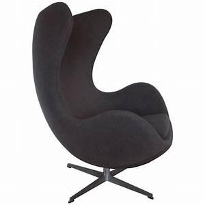 Fritz Hansen Egg Chair : original vintage arne jacobsen egg chair for fritz hansen denmark at 1stdibs ~ Orissabook.com Haus und Dekorationen