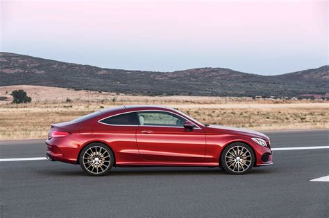 Mercedes C Class Coupe Picture by New 2016 Mercedes C Class Coupe Takes Fashion Lessons From