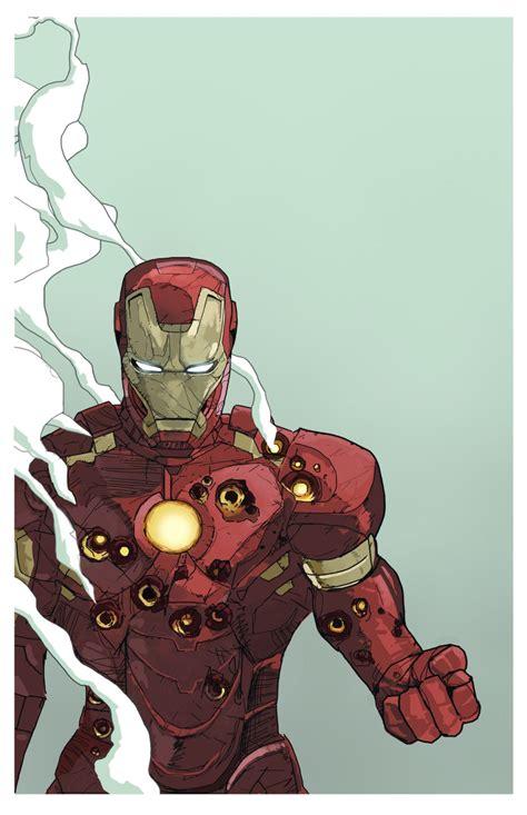 Cyberclays Iron Man Fan Art By Dave Seguin Rebun
