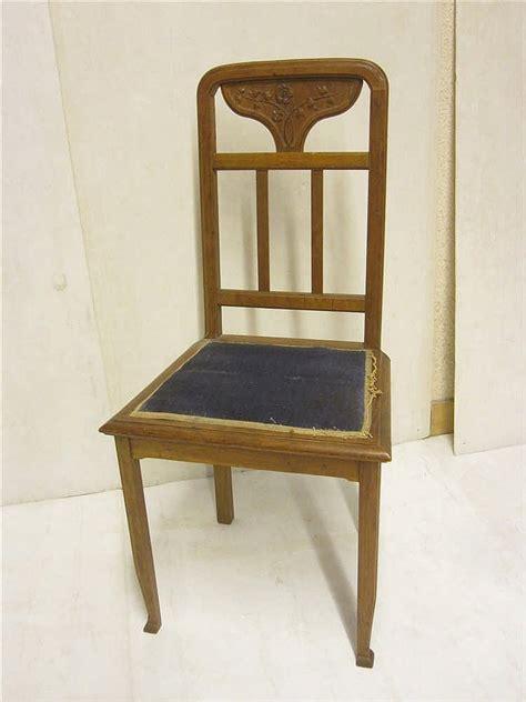 dossier chaise chaise nouveau a dossier sculpte a decor de fleurs