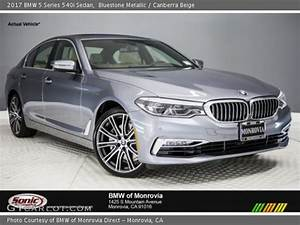 Bluestone Metallic - 2017 BMW 5 Series 540i Sedan
