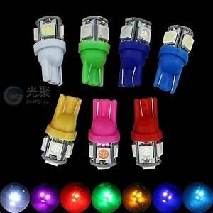 Jual Lampu Led Senja Kota Mobil Motor T10 5 Mata 12v 5w Di