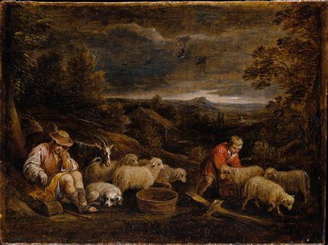 david teniers  younger shepherds  sheep  met
