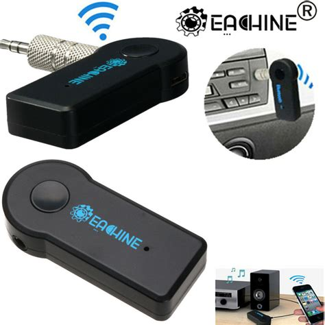 eachine wireless bluetooth receiver mm aux audio stereo home car adaptermic ebay
