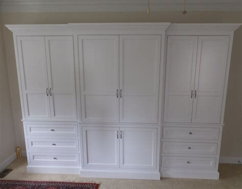 vanity cabinet custom made built in wardrobe armoire by j s woodworking