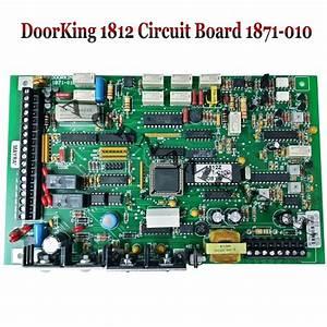 Doorking Main Control Circuit Board 1871