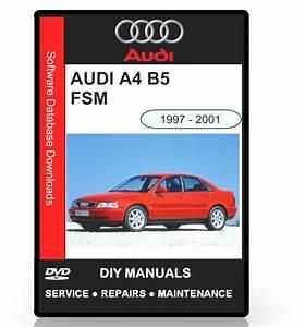 AUDI A4 B5 WORKSHOP SERVICE MANUAL 1997 2001 Download