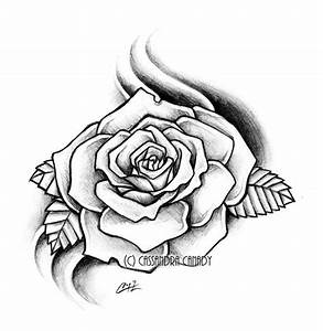Rose Drawing - Dr. Odd | Roses | Pinterest | Rose drawings ...