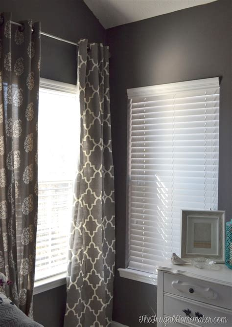 new blinds in the master bedroom