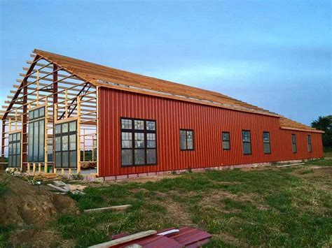 Perka Wood Steel Hybrid Buildings can come in virtually